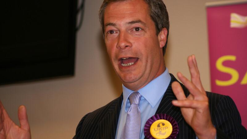 Nigel Farage liderul UKIP