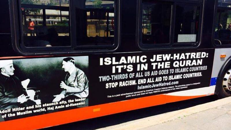 Hitler pe autobuzele din Washington