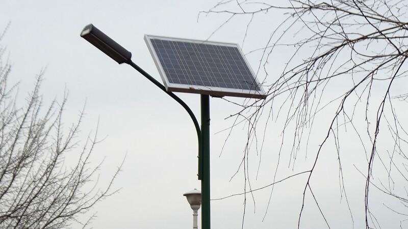 lampa fotovoltaica