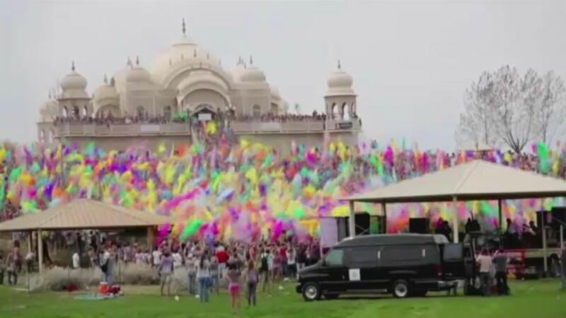 Festival culori