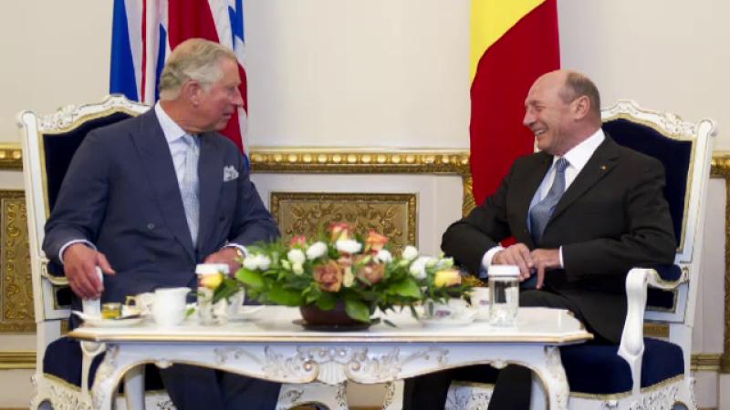 Printul Charles si Traian Basescu