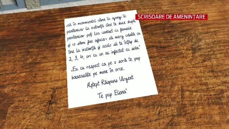 Elena Udrea, scrisoare