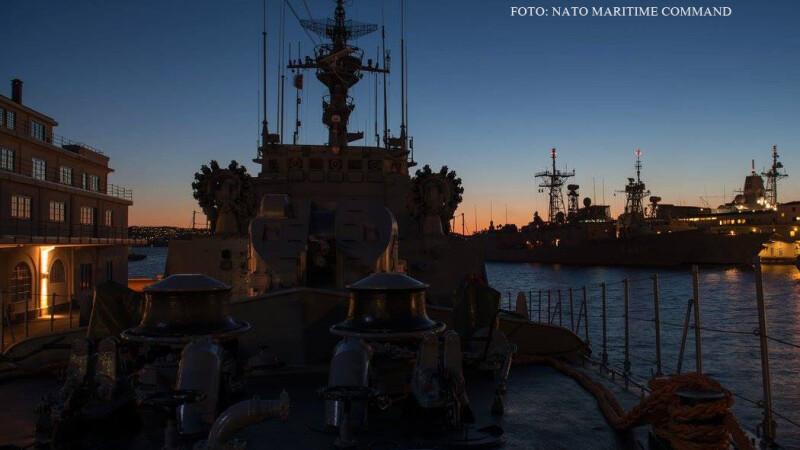 nave NATO exercitiul Dynamic Mongoose