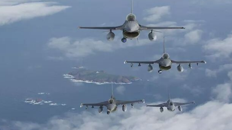 avioane de vanatoare F-16 - Twitter