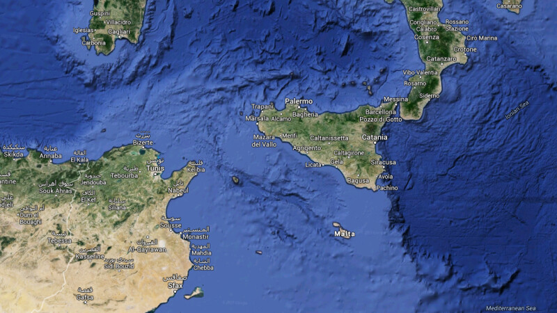 harta Mediterana