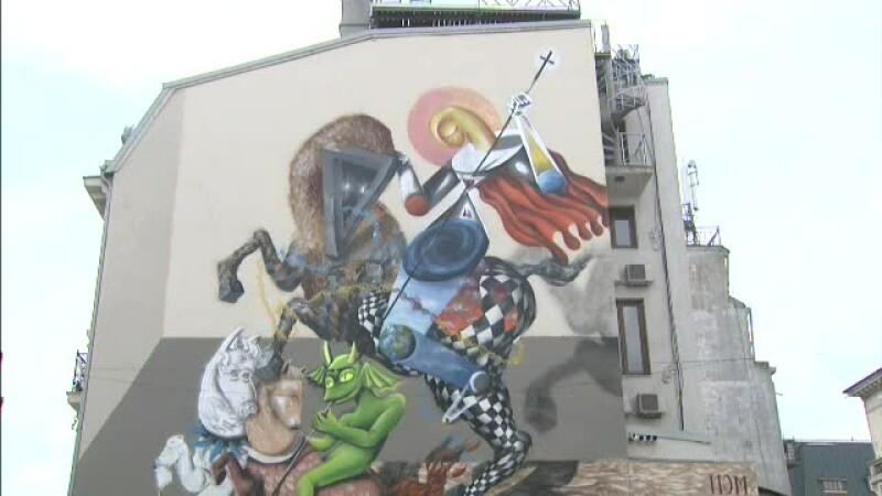 graffiti, Sfantul Gheorghe