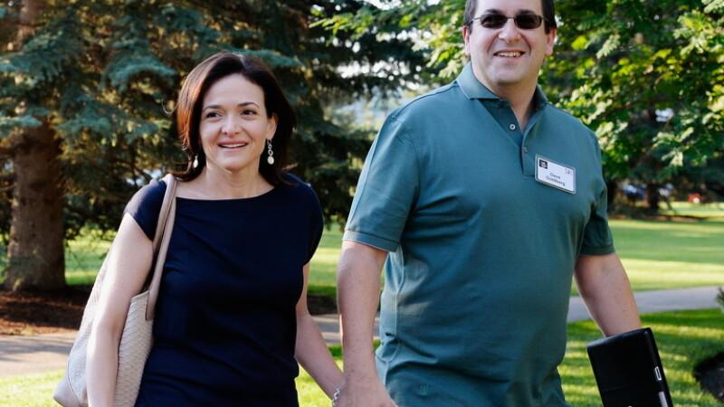 Dave Goldberg si Sheryl Sandberg getty