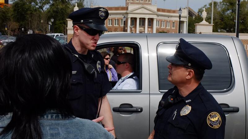 politisti in Hattiesburg
