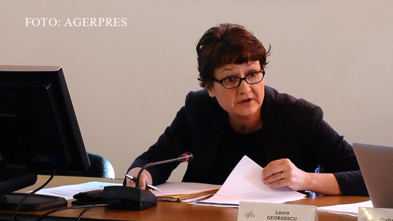 Laura Georgescu, sefa CNA