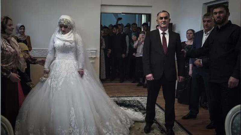 nunta sef politie Cecenia