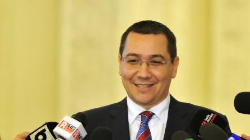 Victor Ponta cover - Agerpres