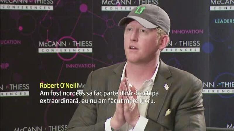 Robert O'Neill la Bucuresti