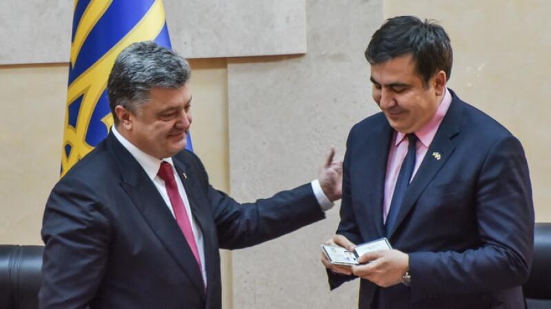 Mihail Saakasvili - getty