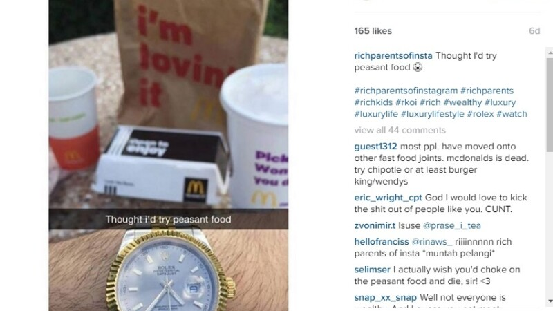 Viata luxoasa si aroganta a parintilor bogati de pe Instagram: \
