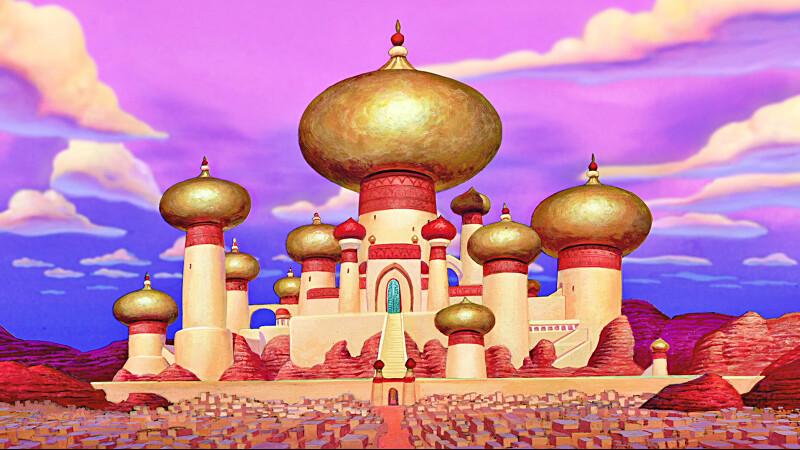 palatul lui Aladdin