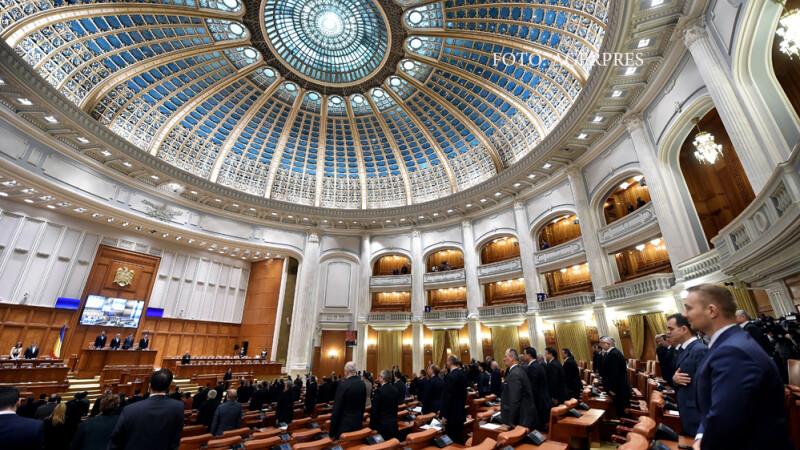 Sedinta comuna solemna a Senatului si Camerei Deputatilor