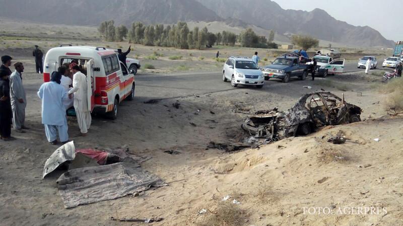 asasinarea lui Akhtar Mansour