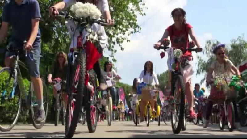 bicicliste la Galati