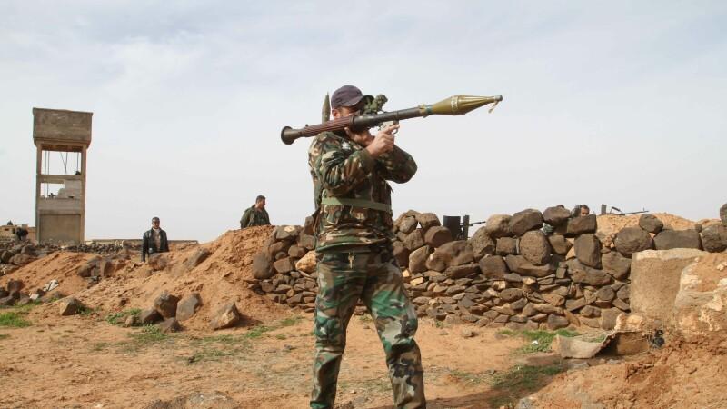 soldat sirian - agerpres