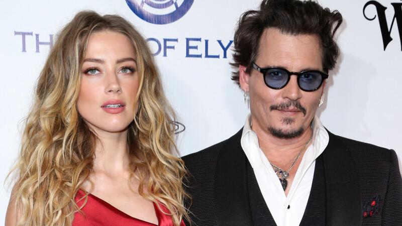 Johnny Depp si Amber Heard s-au inteles in privinta divortului. Suma uriasa primita de actrita pentru a-si retrage acuzatiile