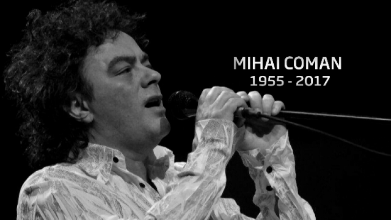 Mihai Coman, membru al trupei Holograf, a murit marti seara. Dan Bittman:
