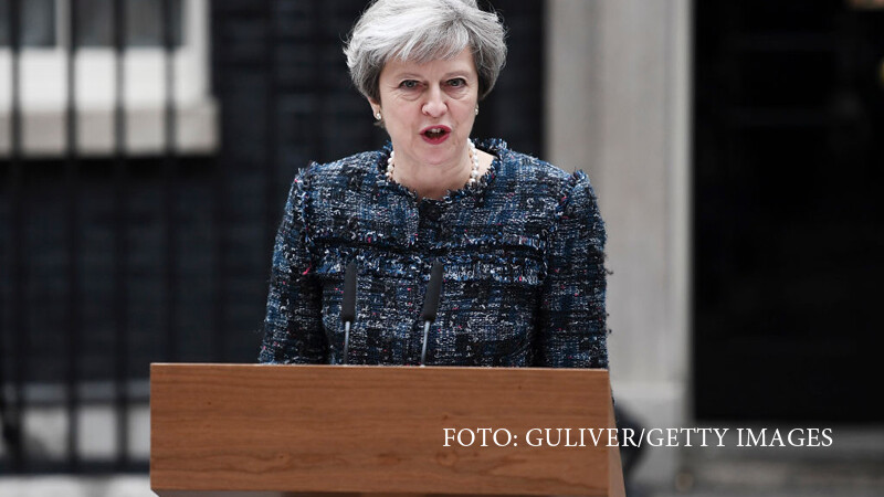 Theresa May tine un discurs
