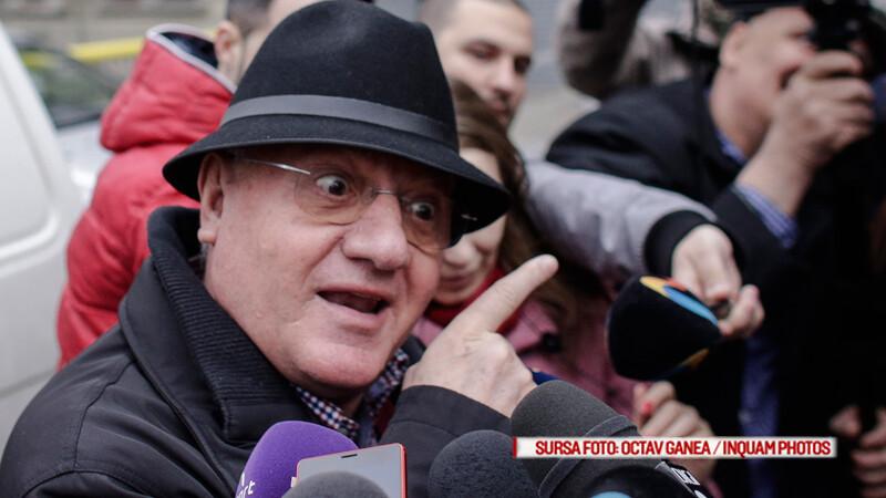 Dumitru Dragomir se prezinta la sediul Directiei de Investigare a Infractiunilor de Criminalitate Organizata si Terorism