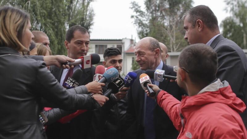 Traian Basescu, audiat la Parchetul General intr-un dosar privind retrocedarea a 66 de imobile