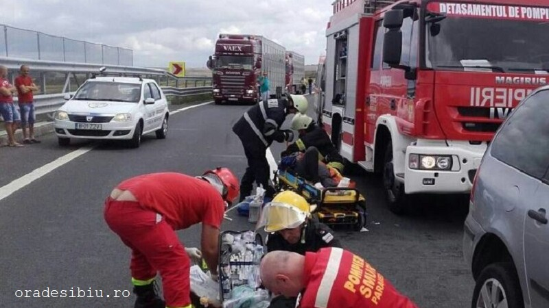 accident Sibiu-Orastie