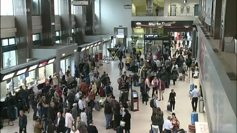 Traficul aerian va fi ingreunat, dupa ce sindicalistii au anuntat ca angajatii Romatsa vor intra in greva generala pe 30 mai