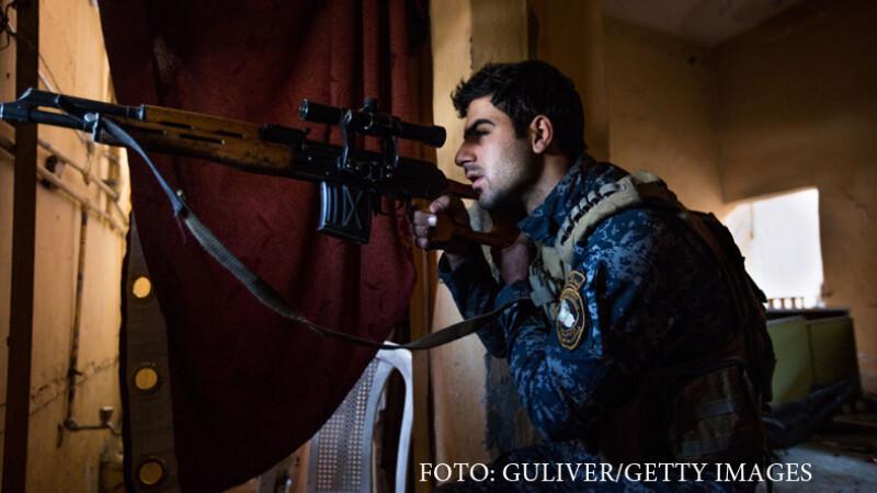 Victoria trupelor irakiene impotriva ISIS. Moscheea din Mosul, recucerita dupa ce a fost declarata califat