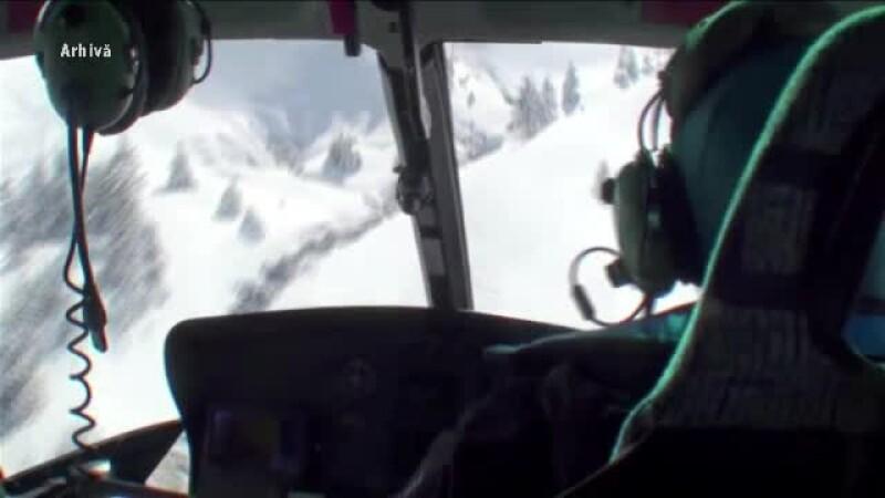 Turişti străini, căutaţi cu elicopterul în Făgăraş