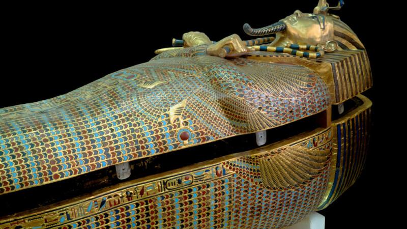 sarcofag de aur al lui Tutankhamon