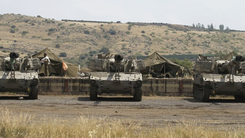 iran, israel, platoul golan, rachete,