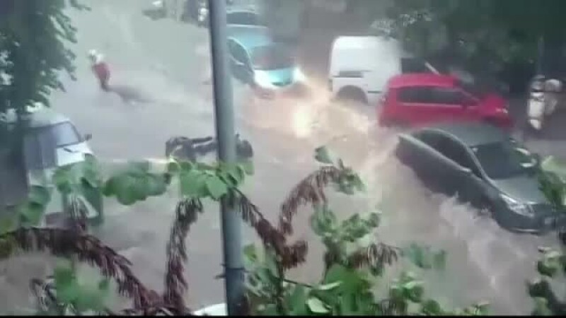 inundatii in Salonic