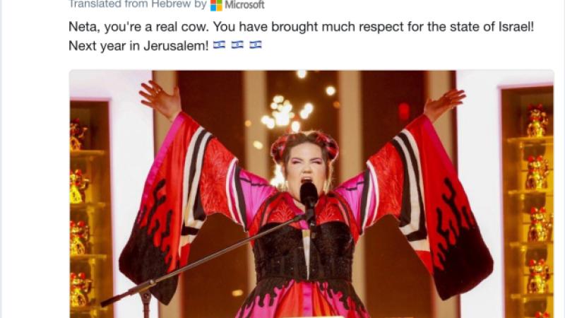 eurovision eroare