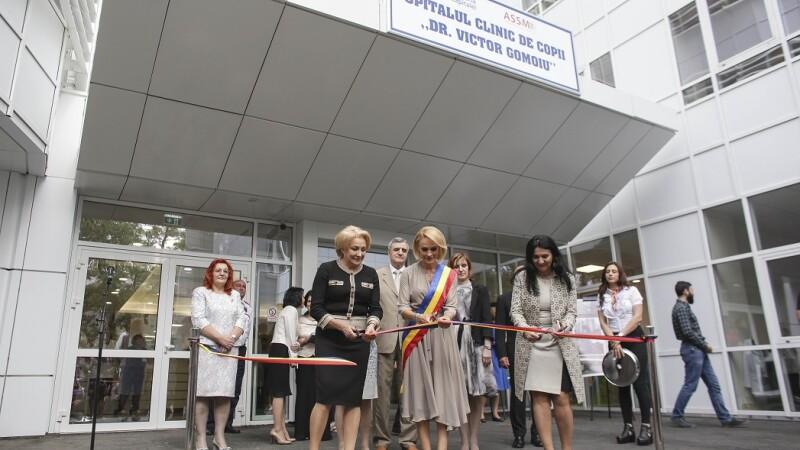 Inaugurarea noii cladiri a spitalului de copii