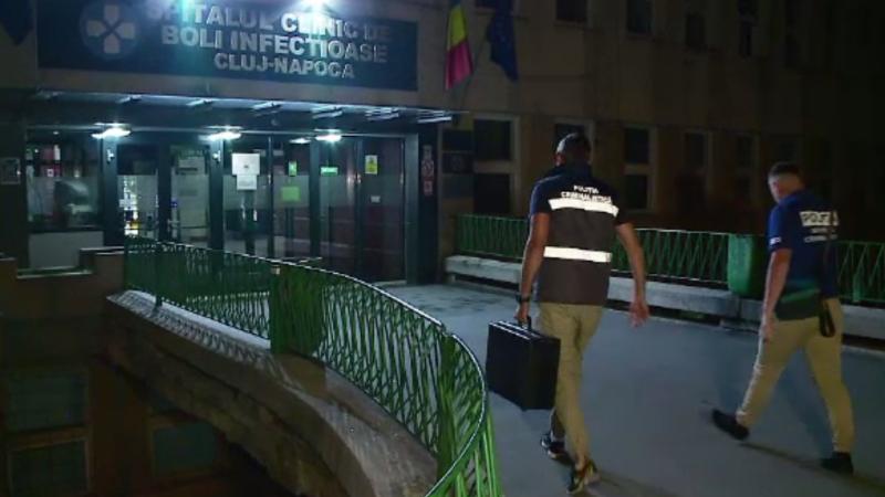 Moarte suspectă în Cluj. O femeie a murit după ce a căzut de la primul etaj al unui spital