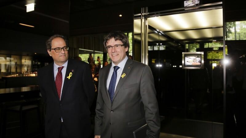 Carles Puigdemont si Quim Torra