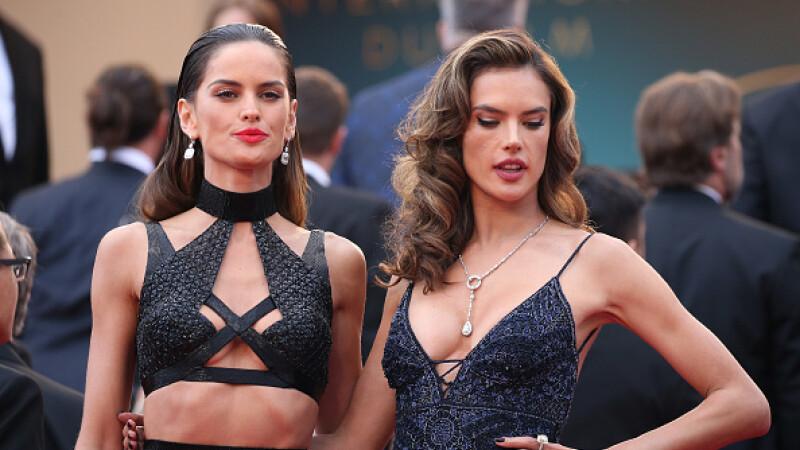 Allessandra Ambrosio, senzațională la Cannes. John Travolta a venit cu soția și copiii