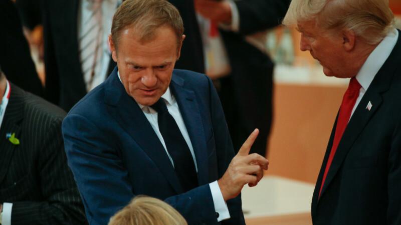 Donald Tusk si Donald Trump
