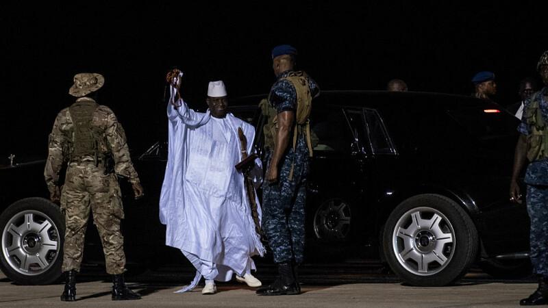 Yahya Jammeh, fost presedinte in Gambia