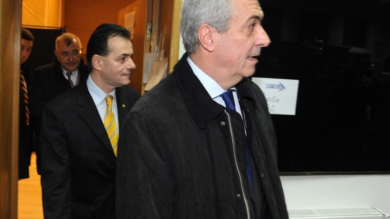 Ludovic orban si Tariceanu in 2012