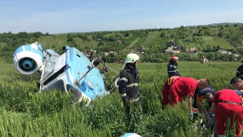 elicopter prabusit Turda