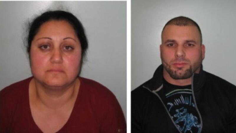 români condamnați Marea Britanie