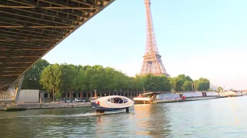 taxi acvatic Paris