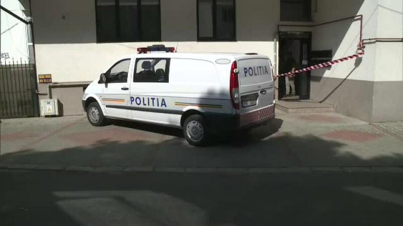 politie la locul crimei
