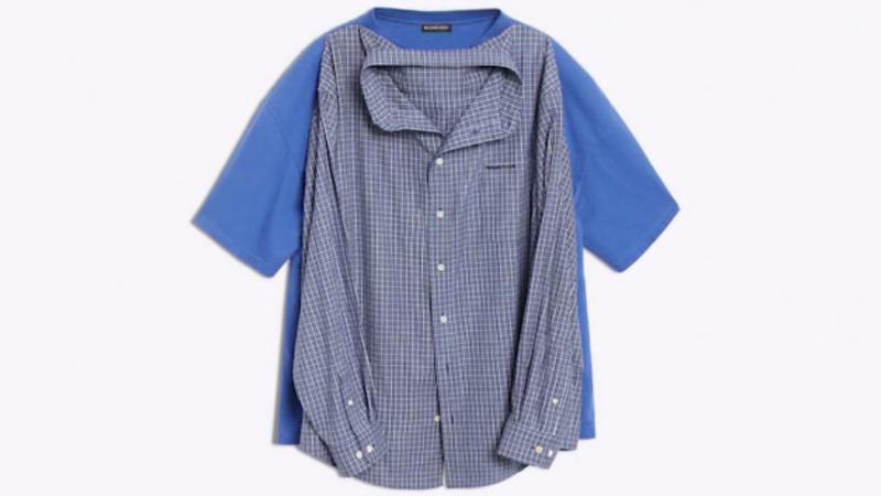 Noutate în domeniul vestimentar: tricoul-cămaşă, lansat de o casă de modă spaniolă de lux