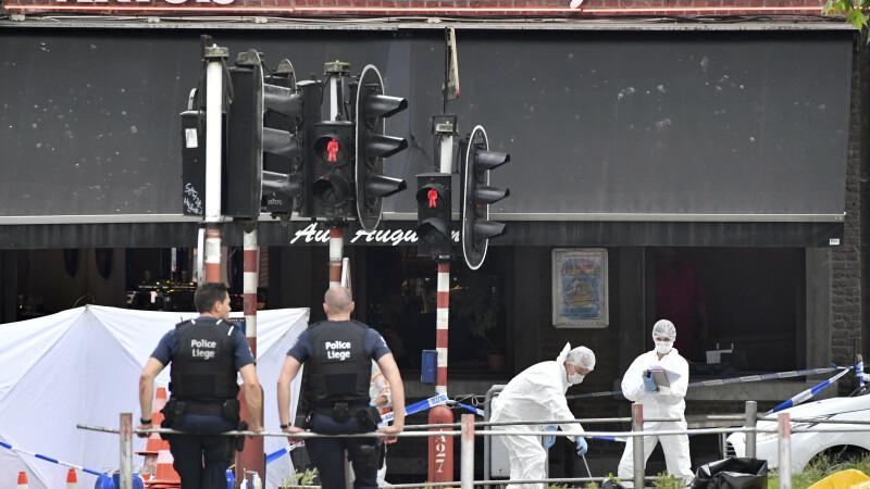 Atacatorul din Liege ucisese un om cu o zi înainte de atentat. Momentul în care a fost omorât