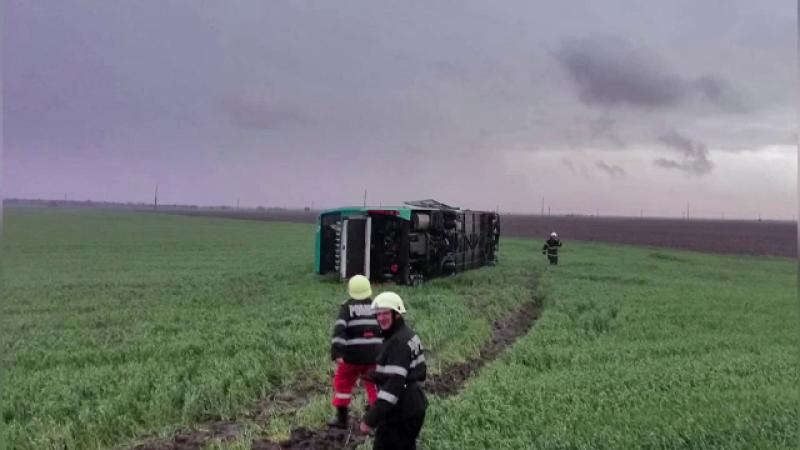 Dezastrul lăsat în urmă de tornada din Călăraşi